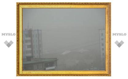 В Туле начались пыльные бури