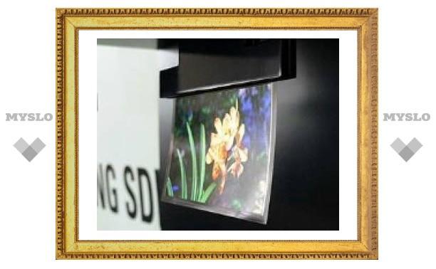 Корейцы разработали OLED-экран толщиной с человеческий волос