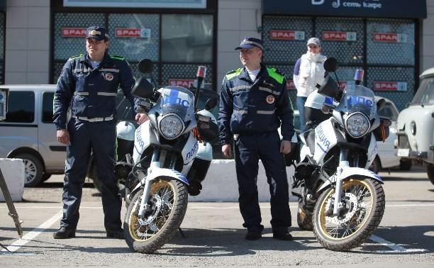 За прошлую неделю в Тульской области мотогруппа выявила 61 нарушение ПДД