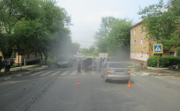 В ДТП в Туле на улице Болдина пострадала трехлетняя девочка