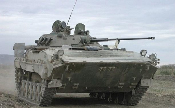 В Алексине появится памятник в виде боевой машины пехоты