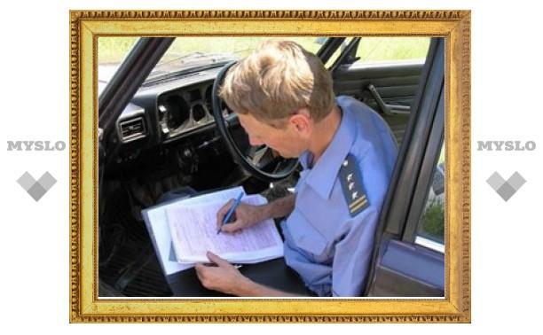 В Туле осудят бывшего инспектора ДПС