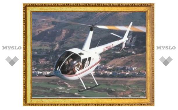 По факту крушения вертолета под Тулой проводится проверка
