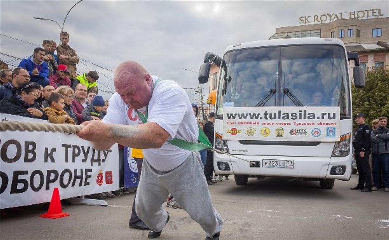 Самого сильного человека Тулы зовут Сергей Шутов
