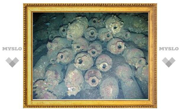 В Тирренском море найдено кладбище римских кораблей