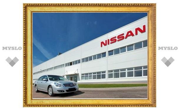 Российский завод Nissan остановил производство