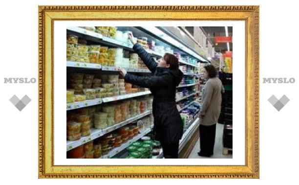 Инфляция в России превысила отметку в 4 процента