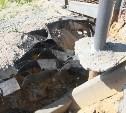 Обрушившийся Одоевский путепровод будут ремонтировать