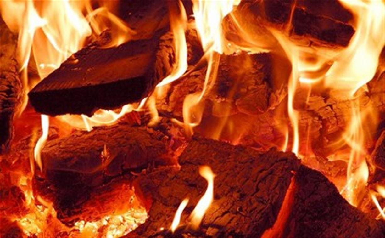 В Ясногорском районе на пожаре погиб мужчина