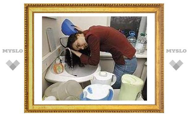 Под Тулой проблемы с горячей водой