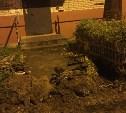 В Алексине при благоустройстве двора заблокировали подходы к подъездам