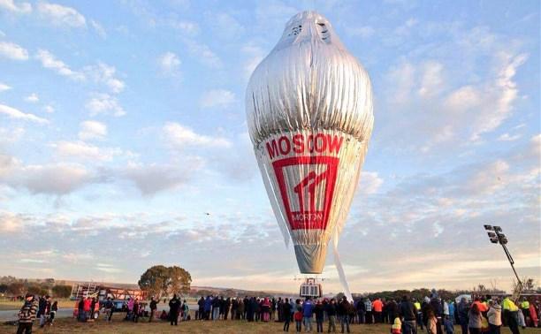 Фёдор Конюхов начал кругосветное путешествие на воздушном шаре