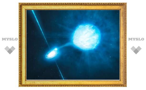Астрономы нашли самую удаленную черную дыру звездной массы