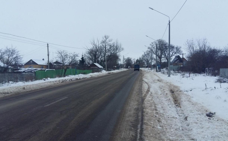 В Киреевском районе в девочку попала наледь с автомобиля