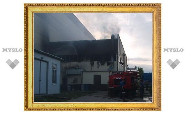 ОАО «Газстройдеталь» прокомментировало крупный пожар на территории предприятия