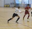Команды студентов выявляют сильнейшего в мини-футболе