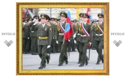 Центр Тулы оккупировали военные
