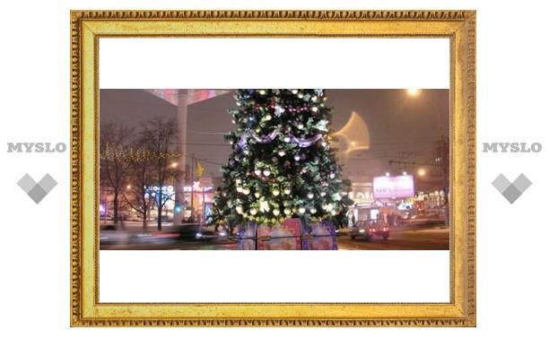 Сколько потратят на новогоднюю елку