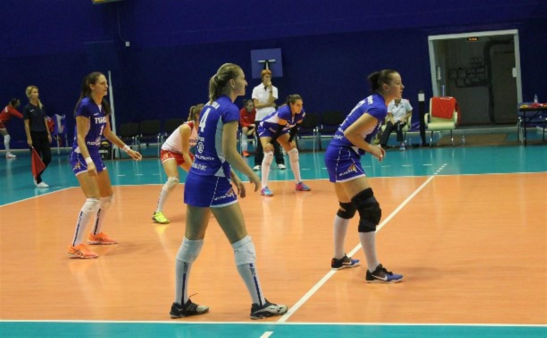 14 октября волейбольная «Тулица» проведет первый домашний матч в новом сезоне