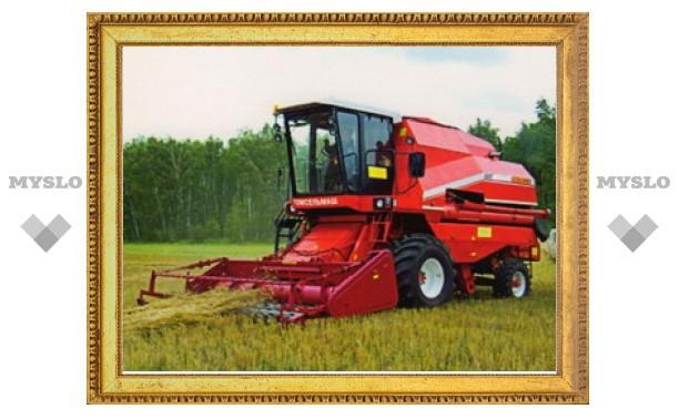 В Тульской области сельхозтехнику застраховали на 205 миллионов