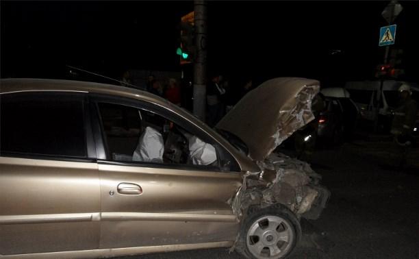 Ночью в Заречье полицейские устроили погоню за пьяным водителем