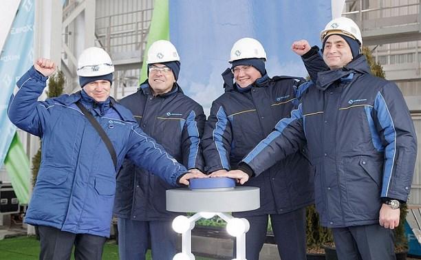 Новомосковский «Азот» открыл уникальное для России производство