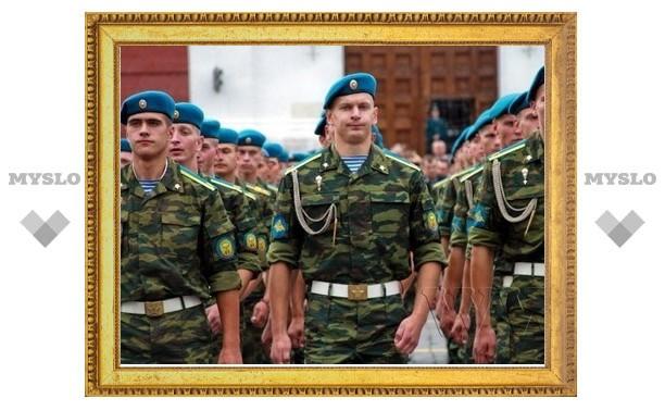 Парни Тулы хотят служить в ВМФ и ВДВ
