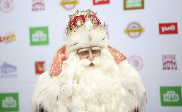 В Тулу приехал главный Дед Мороз страны из Великого Устюга
