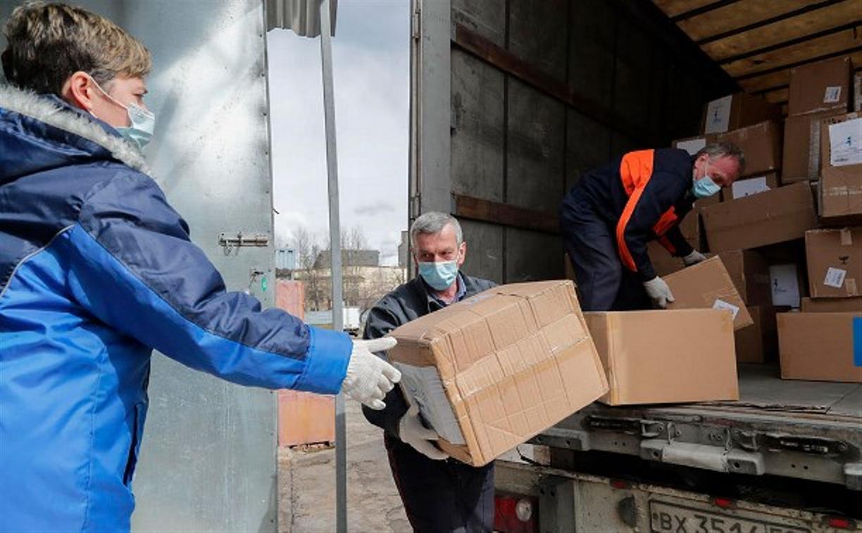 В Тульскую область поступило более 850 тысяч медицинских масок
