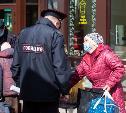 Рейд в Туле: полицейские проверили пенсионеров на улицах