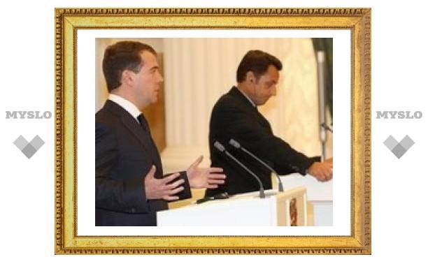 """Саакашвили подписал обновленный план """"Медведева – Саркози"""""""