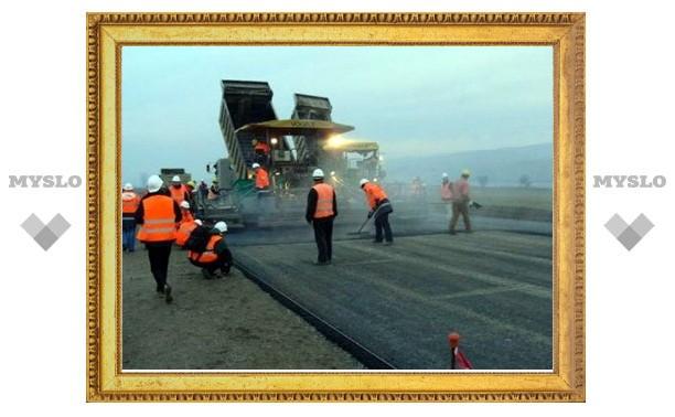 В Туле подрядчики отстают от графика ремонта дорог