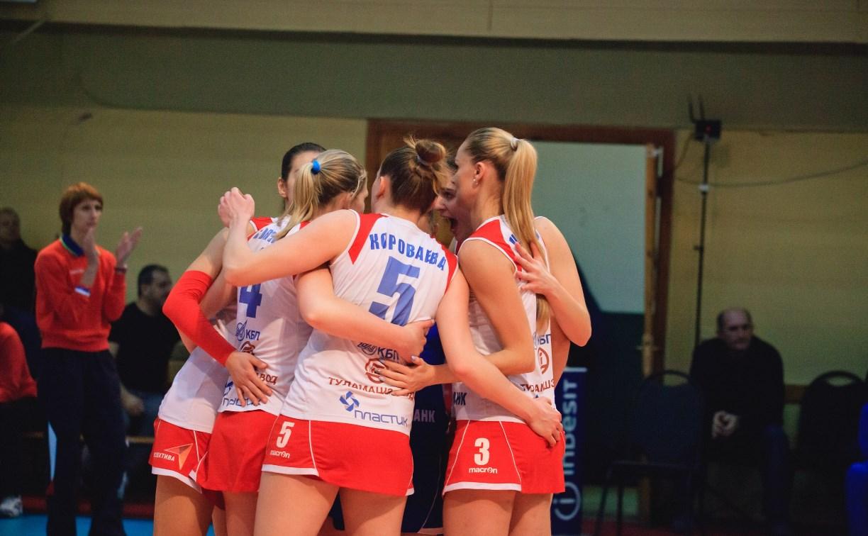 Волейболистки «Тулицы» установили рекорд Чемпионата высшей лиги «А»