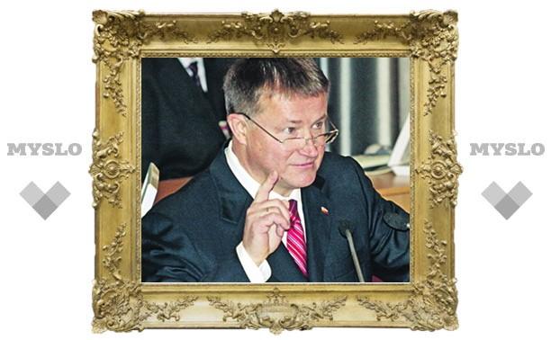 Губернатор Тульской области Вяч еслав Дудка: «Нельзя дойти до цели, не начав самого пути!»