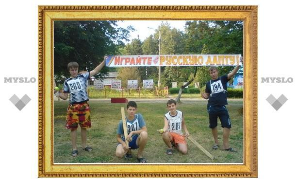 В Туле возрождается русская лапта