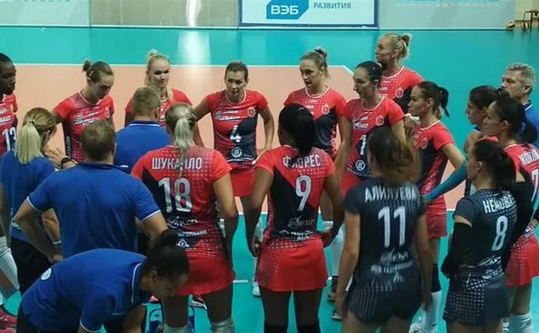 «Тулица» проиграла соперницам из «Динамо-Казань»
