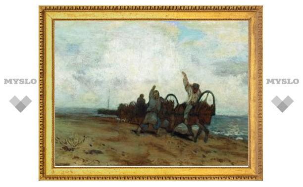 Из музея в Махачкале украли картину Левитана