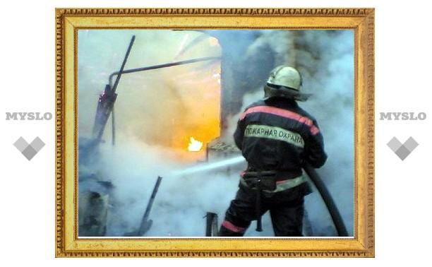 В центре Тулы крупный пожар в общественном заведении