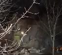 В Киреевском районе загорелся дачный дом