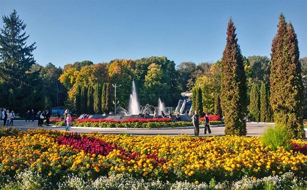 В Центральном парке будут и фонтан, и велодорожка