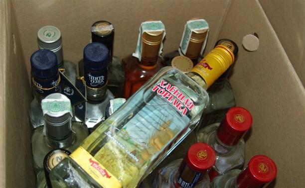 В Туле задержан алкогольный бутлегер