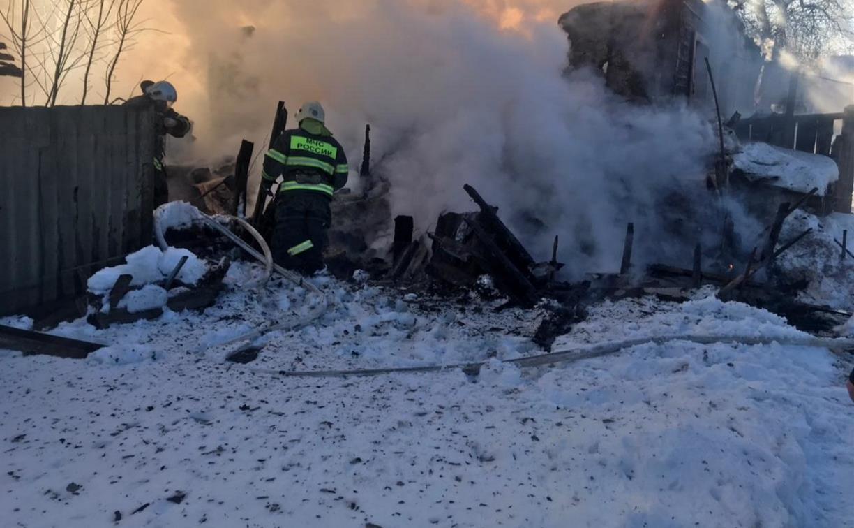 Пожар в Чернском районе: следователи проверят обстоятельства гибели пенсионера