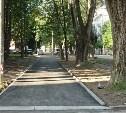 В Туле продолжается ремонт тротуаров