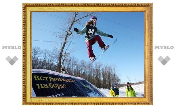 В Туле сноубордисты разыграли «Кубок Tele2»
