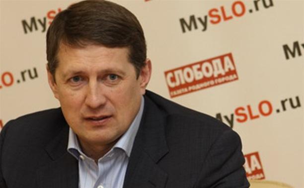 Евгений Авилов поздравил туляков с олимпийским праздником