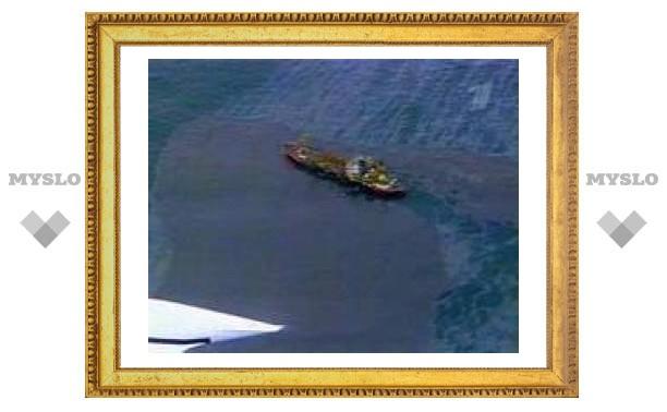 Возле Новороссийска появилось нефтяное пятно