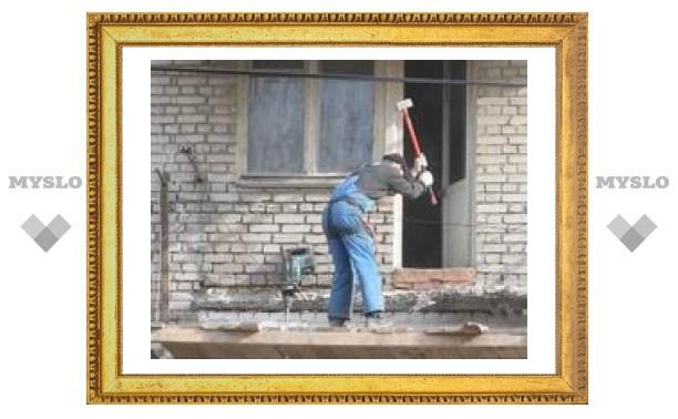 В Туле отремонтируют 200 балконов