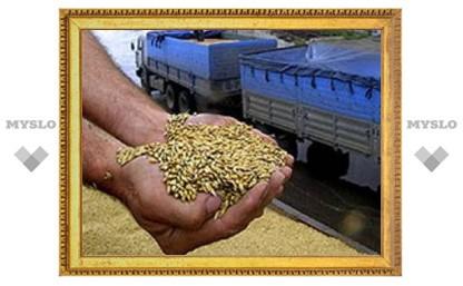 В Веневском районе украли зерно