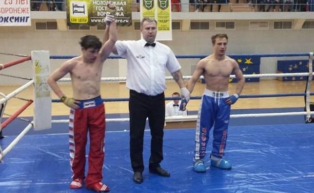Новомосковские кикбоксеры отличились на Чемпионате ЦФО