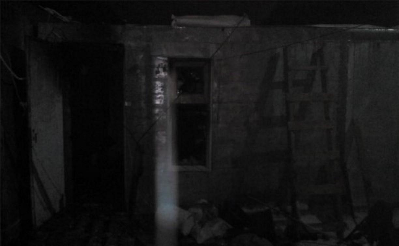 В новогоднюю ночь при пожаре в Венёвском районе пострадал человек